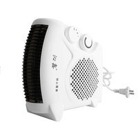 Mini Portable Electric Heater Bathroom Warm Air Blower Fan Home Heater Adjustable Thermostat 800W for Household Use US Plug Electric Heaters