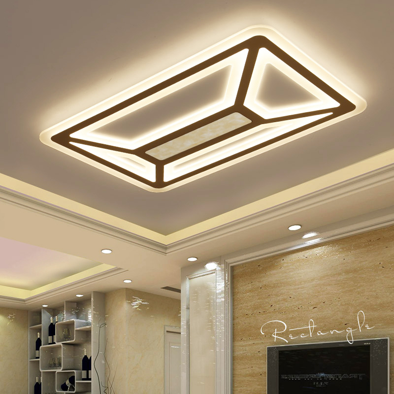 New Style Modern LED Ceiling Light For Living room children bedroom decor lighting lampara de techo Home ceiling lamp fixtures noosion modern led ceiling lamp for bedroom room black and white color with crystal plafon techo iluminacion lustre de plafond