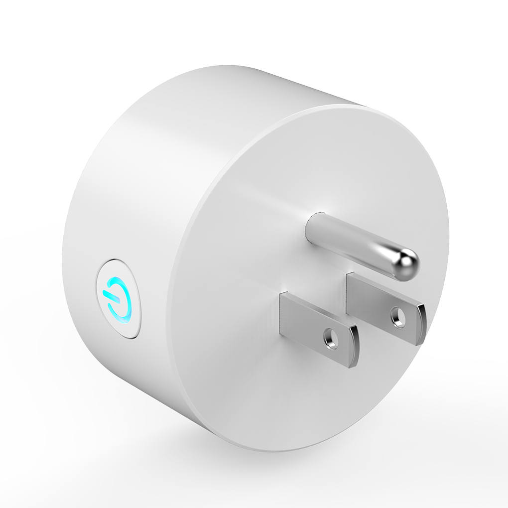 JH-G01U WiFi Smart Plug Mini Smart Socket Outlet Appliances Remote Control Works for Amazon Alexa Google Home US Plug smart remote control wifi plug socket support amazon alexa us plug