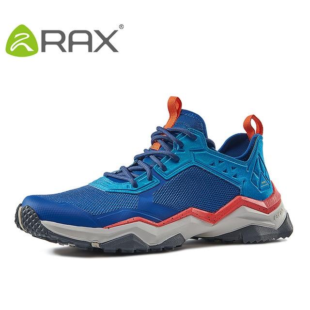 Rax Summer Hiking Shoes Men Breathable Outdoor Sports Shoes WomenTrekking Shoes Walking Climbing Fishing Shoes Women Lightweight