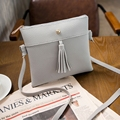 Hot Sale Women Bag PU Leather  Vintage Tassel Bag Women Messenger Bag Handbags Crossbody Shoulder Bag Bolsa Feminina Small Purse