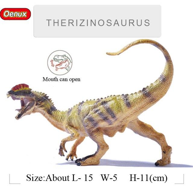 Vivid Oenux Prehistoric Savage Dilophosaurus Jurassic Dinossauros Figura Boca Pode Abrir Dinossauro Brinquedo Toy O Melhor Presente Para O Miúdo
