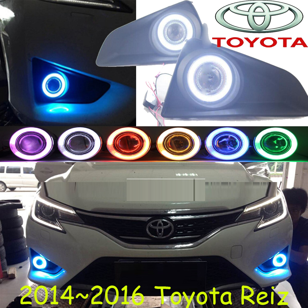Reiz fog light ,2014~2016;Free ship!Reiz daytime light,2ps/set+wire ON/OFF;optional:Halogen/HID XENON+Ballast,Reiz crosstour fog light led 2014 2016 free ship crosstour daytime light 2ps set wire on off halogen hid xenon ballast crosstour