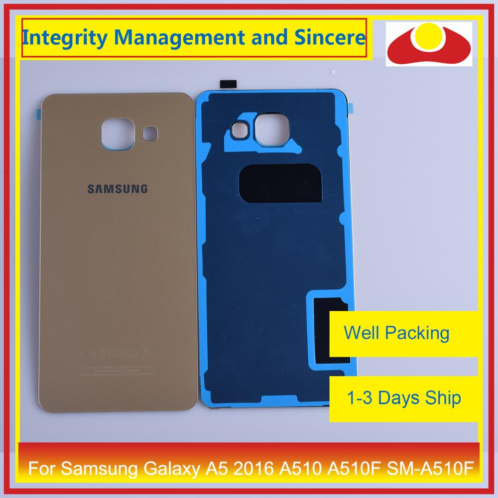 Image 5 - 50Pcs/lot For Samsung Galaxy A5 2016 A510 A510F SM A510F Housing Battery Door Rear Back Cover Case Chassis Shell-in Mobile Phone Housings & Frames from Cellphones & Telecommunications