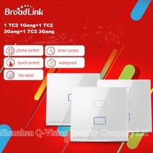 Broadlink TC2 1 Gang + 2 Gang +three Gang Sensible House Automation Wi-fi Wifi Distant Management Wall Gentle Contact Change Luxurious EU Kind