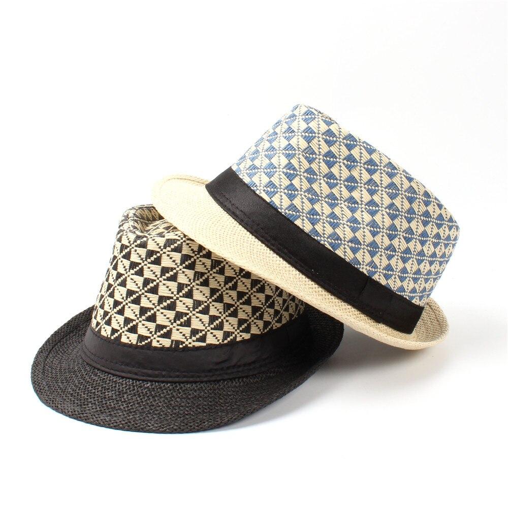0609b58054ddad Summer Toquilla Straw Women Men Boater Beach Sun Hat For Gentleman ...