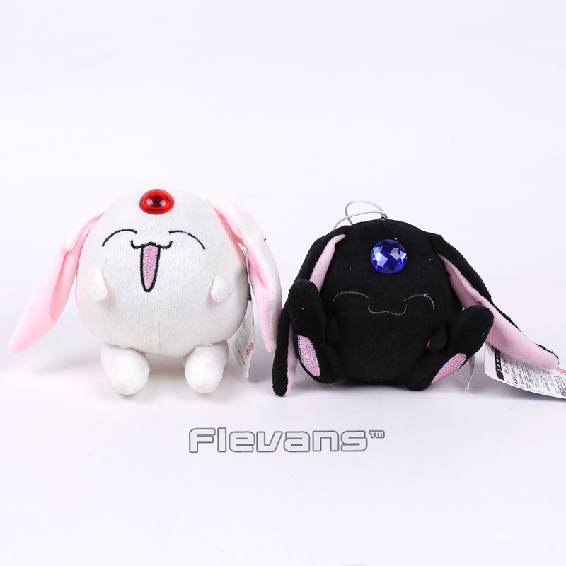 Anime Tsubasa Chronicle Mokona Plush Toys Soft Stuffed Animal Toys Dolls 2pcs/set 10cm все цены