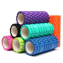 NEW 33x14cm EVA Exercise Textured Yoga Foam Roller For Gym Pilates Physio Trigger Point 7Colors