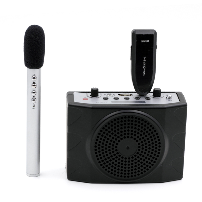 OXLasers Portable 2.4G Wireless Megaphone and Microphone system with remote control FM for tour guide teacher and conference niorfnio portable 0 6w fm transmitter mp3 broadcast radio transmitter for car meeting tour guide y4409b
