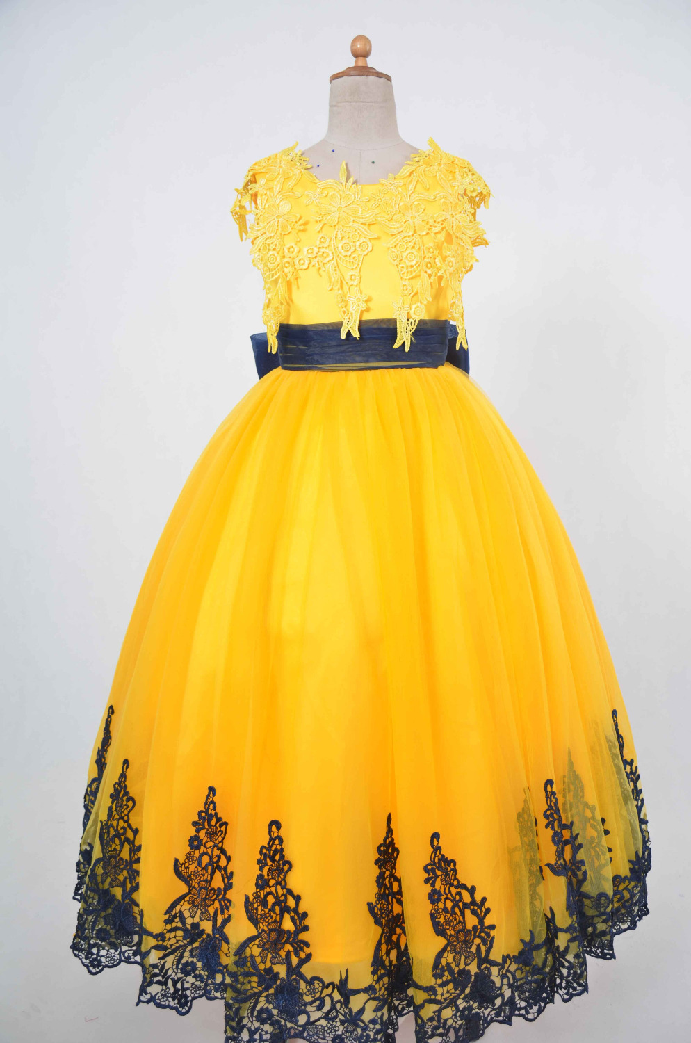 Flower girl dresses yellow choice image fresh lotus flowers black and yellow flower girl dresses image collections flower mightylinksfo