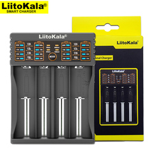 Liitokala Lii-402 18650 Charger Charging 18650 1.2V 3.7V 3.2V AA / AAA 26650 10440 16340 NiMH Lithium Battery Charger