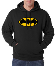 Hot Koop Batman Sweatshirt Mannen Hooded 2019 Herfst Winter New Fashion Casual Hoodies Mannen Fleece Slim Fit Mannen Trainingspak s-2XL(China)