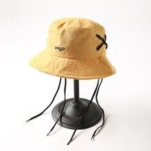 Japanese Style Bucket Hat Women Men Fishing Spring Summer Bob Hip Hop Cap Gorros Unisex Cotton Sun Hats Caps