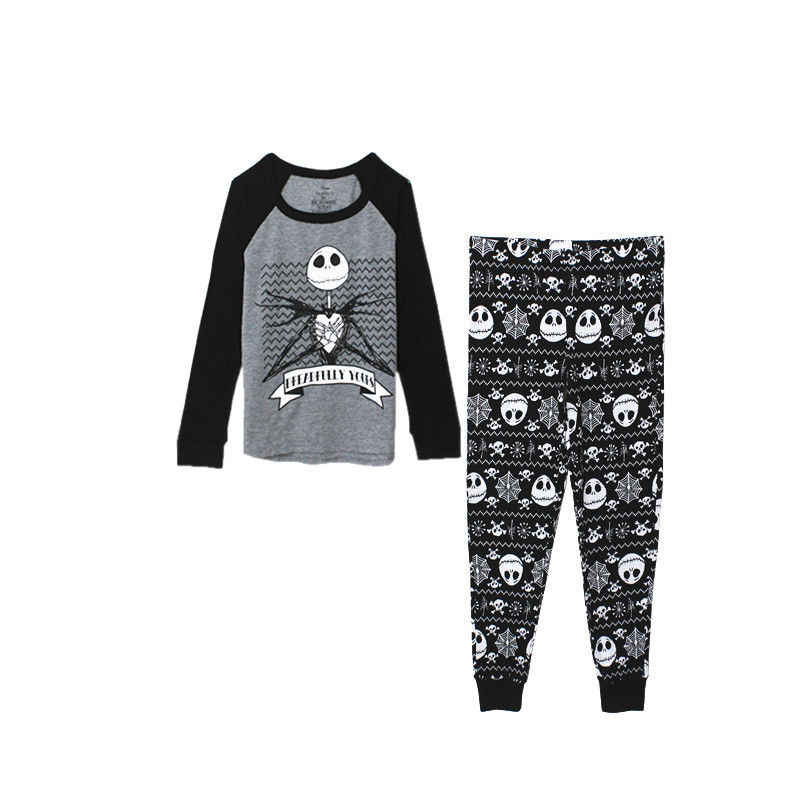 Nightmare Before Christmas Jack Skellington Pyjama Slaap Set Top En Broek Pyjama Causale Adlut Kostuums Cosplay Kostuums