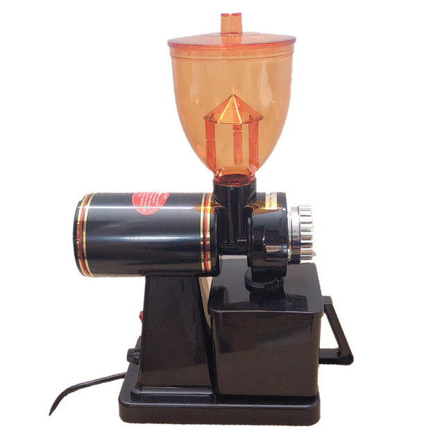 110V ו 220V כדי 240V שחור צבע קפה מטחנת מכונת קפה מיל עם תקע מתאם