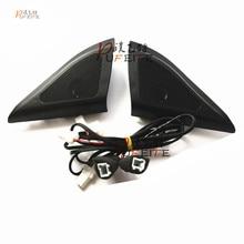 Für Hyundai ix25 lautsprecher hochtöner auto-styling Audio trompete kopf lautsprecher ABS material dreieck lautsprecher hochtöner