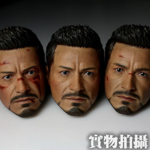 1/6 figure doll head shape for 12 action figure doll accessories Iron Man 3 Tony male Head carved not include body,clothes 1 6 scale figure doll head shape for 12 action figure doll accessories iron man 2 whiplash mickey rourke male head carved