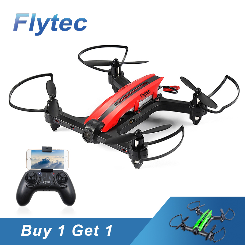 Buy One Get One Free Flytec T18D RC Quadcopter Drone Wifi FPV 720P HD Camera RC Drones Height Hold Mode RTF Drone with Camera flytec t18d rc quadcopter mini drone 4ch wifi fpv 720p hd camera rc drones height hold mode 6 axis ufo rtf drone with camera