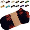 Calcetines de los hombres Calcetines de Malezas Para Mujeres de Los Hombres de Algodón Calcetín Corto Masculino de La Manera 3D