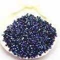 SS6 5000 unids/pack No Caliente-Fix rhinestone de la resina púrpura red Magic colores AB jalea negro piedra De Uñas DIY Art gems