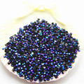 SS6 5000pcs/pack Non Hot-Fix resin rhinestone purple red Magic color AB  black jelly stone For DIY Nail Art gems