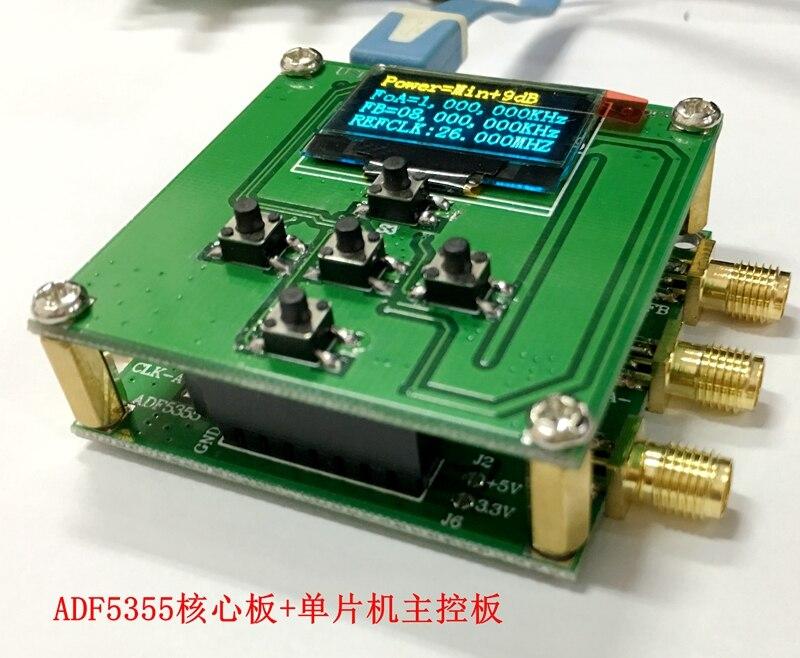 (Ядро доска + Официальный сайт плата управления + MCU) ADF5355 официальный сайт, конфигурация ПК PLL, rf источник 54, MHz 136