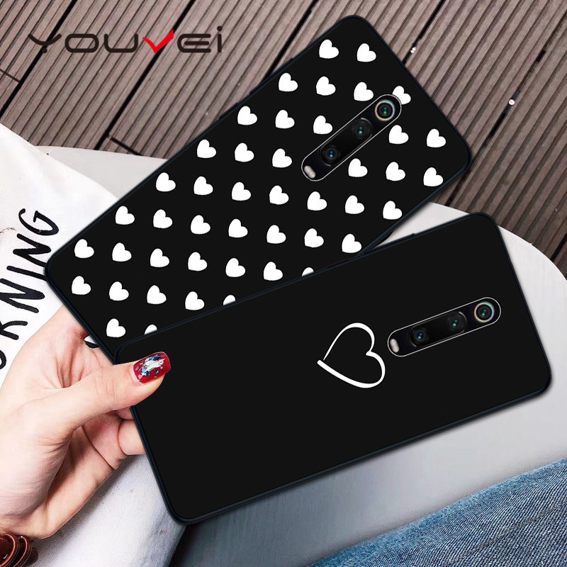 Case For Coque Redmi K20 Pro Case Black Soft TPU Back Cover For Xiaomi Mi 9T Case Cover For Xiaomi Mi9t Pro Phone Case