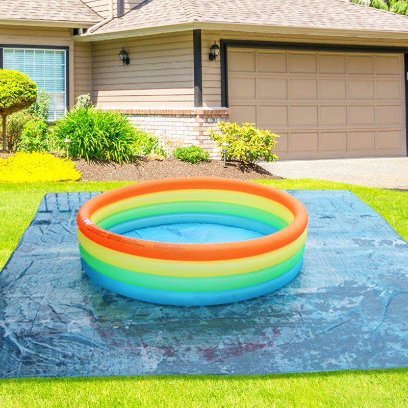 inflatable baby kid swimming pool 150*35cm big size 4 ring summer play colorful pool baby child water pool color box B31008