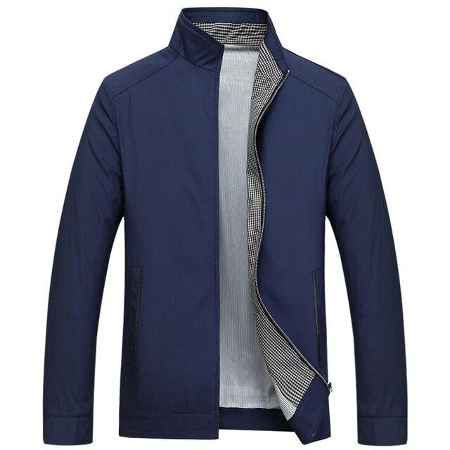 Plus Size 3xl Solid Fashion Jacket Men Spring Coat Office Men S