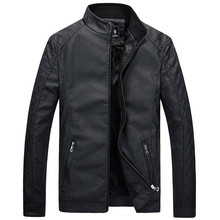 New Motorcycle Leather Jackets Men Autumn Winter Leather Clothing Men Leather Jackets Male Business casual Coats