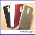 Черный Белый Красный Золотой Вариант Оригинальный Для LG G2 D802 D801 задняя Крышка Батарейного Отсека Вернуться Корпус Задняя Крышка С Логотипом + ЛОГОТИП