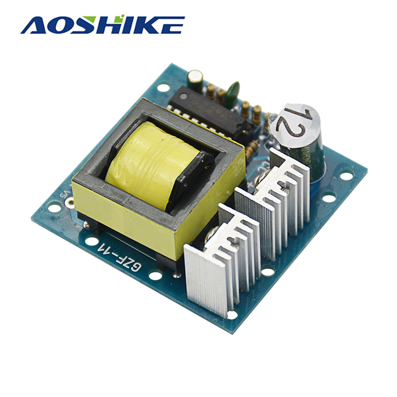 Aoshike DC-AC Converter 12V to 110V 220V AC 150W Inverter Boost Board Transformer Power aoshike usb 1500w watt dc 12v to ac 220v