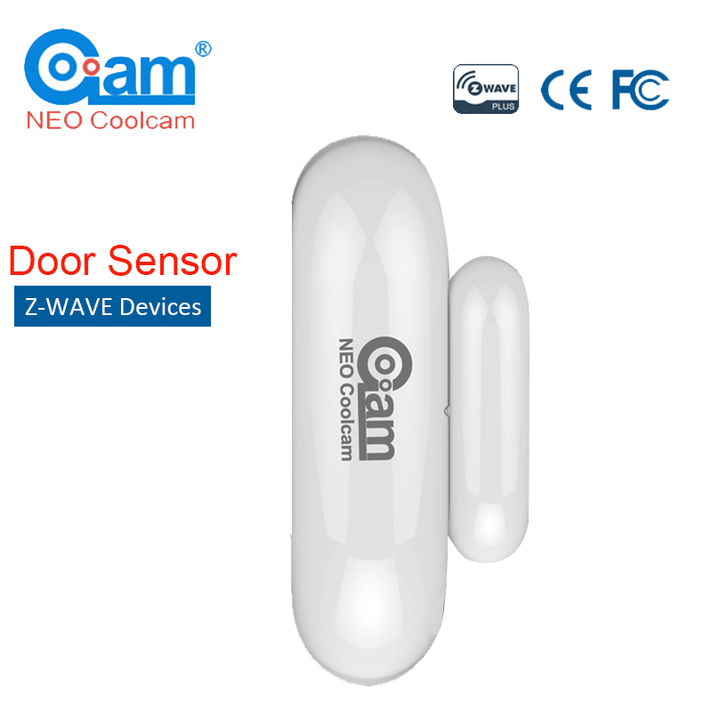 NEO COOLCAM NAS-DS01Z Z-wave Plus Smart Home Door/Window Contact Sensor Z wave Security Smart Home Automation Sensor neo coolcam nas wr01ze z wave plus sensor smart home eu power plug z wave repeater extender outlet plug automation alarm system