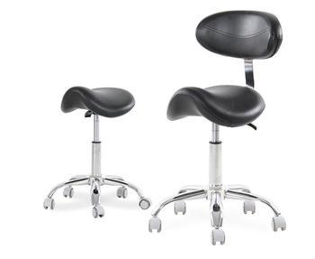 שיניים נייד כיסא עיניים אוכף כיסא רופא של שרפרף עור מפוצל רופא שיניים כיסא אוכף שרפרף מתגלגל ארגונומי כיסא מסתובב-בשרפרפים והדומים מרופדים מתוך ריהוט באתר