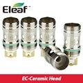 Original 5 unids eleaf ijust 2 ec ec 0.5ohm bobina de cerámica-cerámica cabeza para ijust 2 mini/melo 3/melo/ec melo 2 atomizador de cerámica