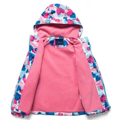 meninas jaquetas de cor da crianca outono