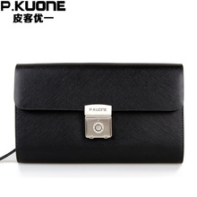 Men Genuine Leather Spanish Royal Style Handbag Money Wallet Holder Cool Wallets For Men With Code Lock