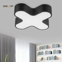 Ceiling Lights For Kids Room Living Room Bedroom Lights Avize Black White Shape Luminarias Para Teto