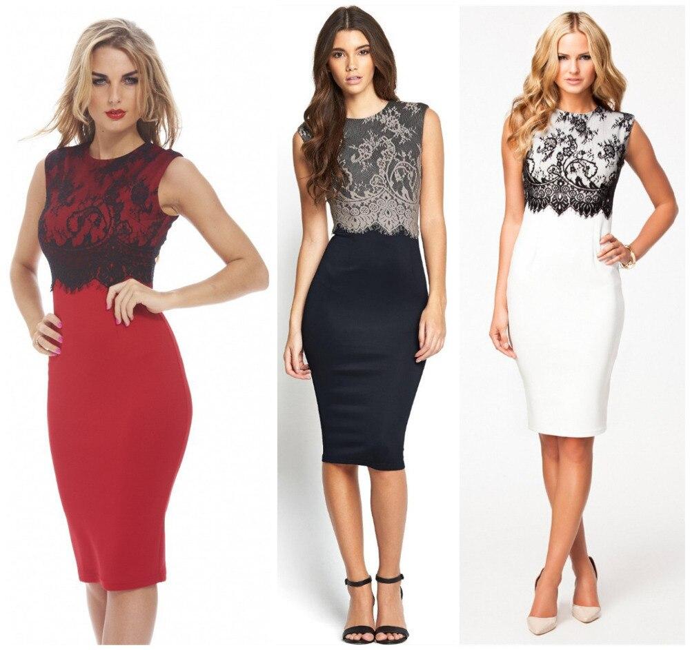 Womens Y Dresses Party Night Club Dress Black Red Slim Top