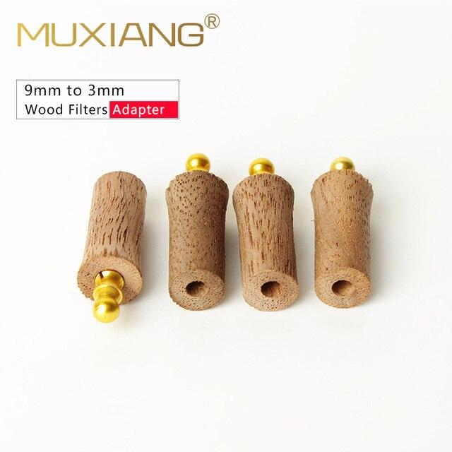 Adaptateur de filtre en métal | 5/10 pièces/lot bois, 9mm à 3mm accessoires de tuyau de fumée, changeur de filtre fg0011