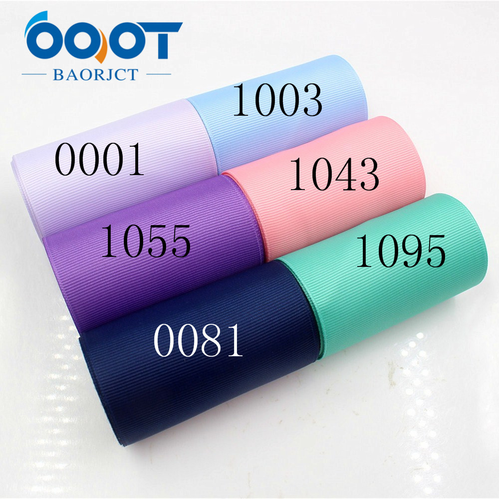 Apparel Sewing & Fabric Ooot Baorjct 176065 38mm 10yard Solid Color Ribbons Thermal Transfer Printed Grosgrain Wedding Accessories Diy Handmade Material Arts,crafts & Sewing