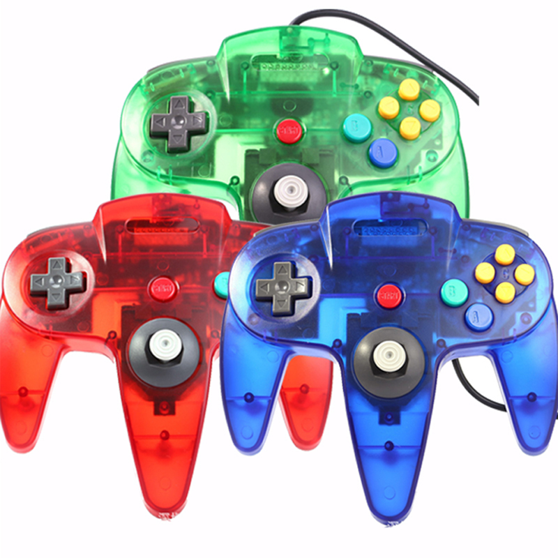 Wired Joystick Controller Gamepad For Nintendo For Gamecube For N64 Controller with USB Interface For PC Mac Controle бордюр kerama marazzi сакура b1740 880 5 7x30