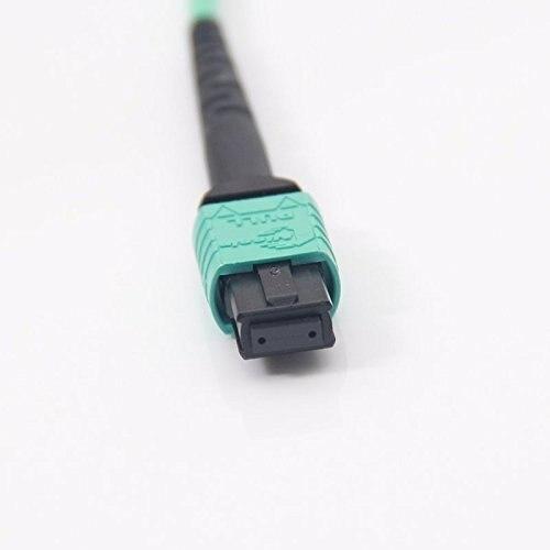 10Gtek 5 미터 (16.5feet) MPO-MPO 패치 코드, OM3 멀티 모드 - 통신 장비 - 사진 3