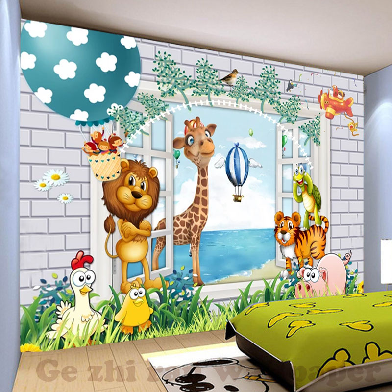 Home Textile Wallpaper 3d Murals Bedroom Wall Covers Animal Designs Wallpapers