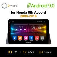 Ownice K1 K2 K3 Octa 8 ядра Android 9,0 dvd плеер автомобиля для Honda Accord 8th 2008 2009 2010 2011 2012 gps 32G Встроенная память 2G Оперативная память