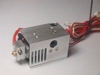 DIY UM2+ Ultimaker 2 Extended + Plus V6 Custom Mount full kit metal mount holder PT100B sensor aluminum alloy