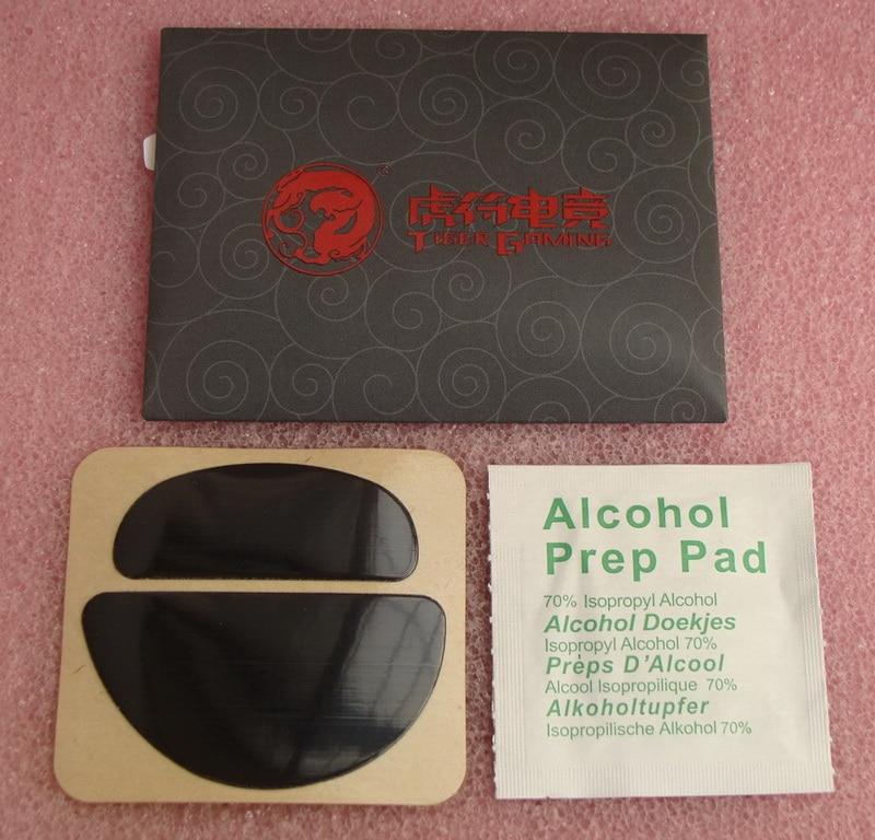 1 sets/pack original tiger gaming mouse skates mouse feet for ZOWIE EC EC1 EC2 eVo teflon mouse glide