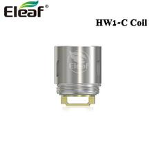 5 sztuk partia Eleaf HW1-C z pojedynczym cylindrem 0 25ohm cewki głowy HW1 HW2 HW3 HW4 parownik pasuje do Ello iStick Pico 21700 ikonn ijust NexGen tanie tanio New HW1-C (ceramic) Coil DS Dual Eleaf ELLO mini and ELLO mini XL Tank Single-Cylinder 0 2ohm Dual-Cylinder 0 3ohm 40W-80W