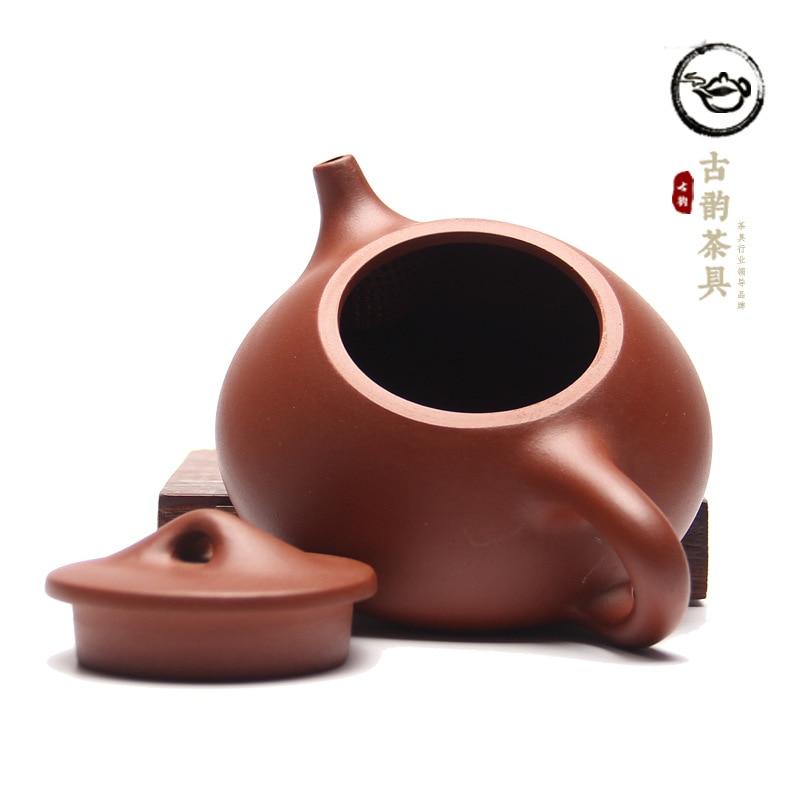 """""""Yixing"""" geros kokybės violetinio molio arbatinuko rinkinys - Virtuvė, valgomasis ir baras - Nuotrauka 4"""