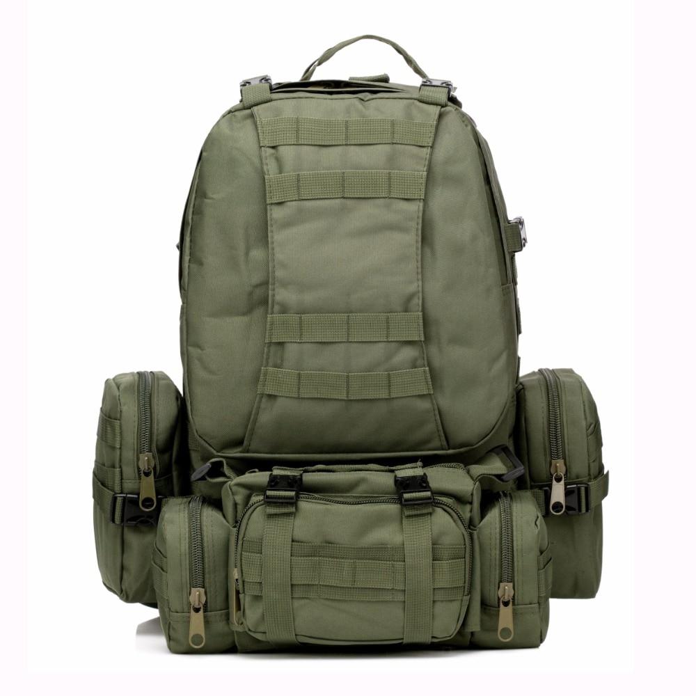 50L Molle Tactical Backpack Waterproof 600D Assault Outdoor s
